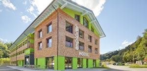 Aussenansicht des Explorer Hotel Oberstdorf